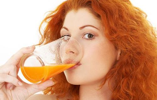 Juicing Carrots Hair